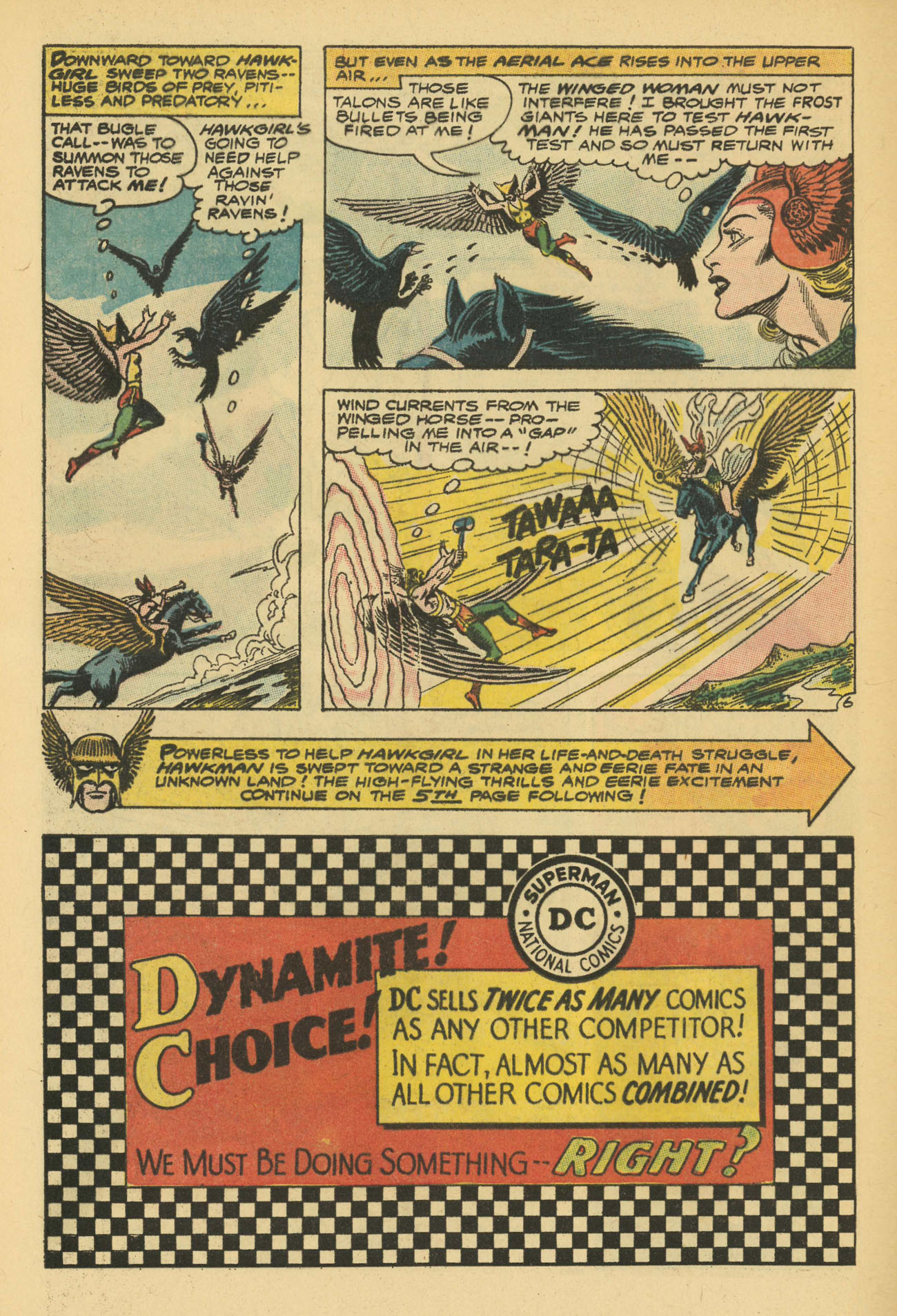 Hawkman (1964) issue 13 - Page 8
