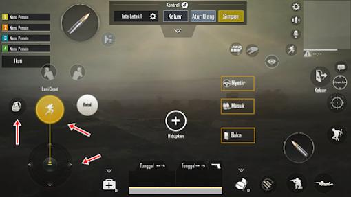 PUBG Mobile Cara Setting Tata Letak Control 3