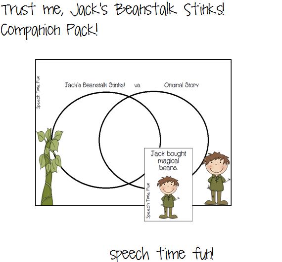 Trust me, Jack's Beanstalk Stinks! Companion Pack! - Speech