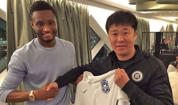 Mikel Obi signs new deal with Chinese club