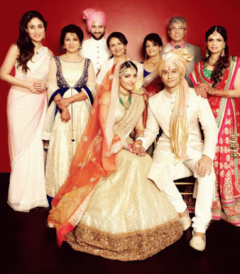 Bride Soha Ali Khan and Kunal Khemu wedding