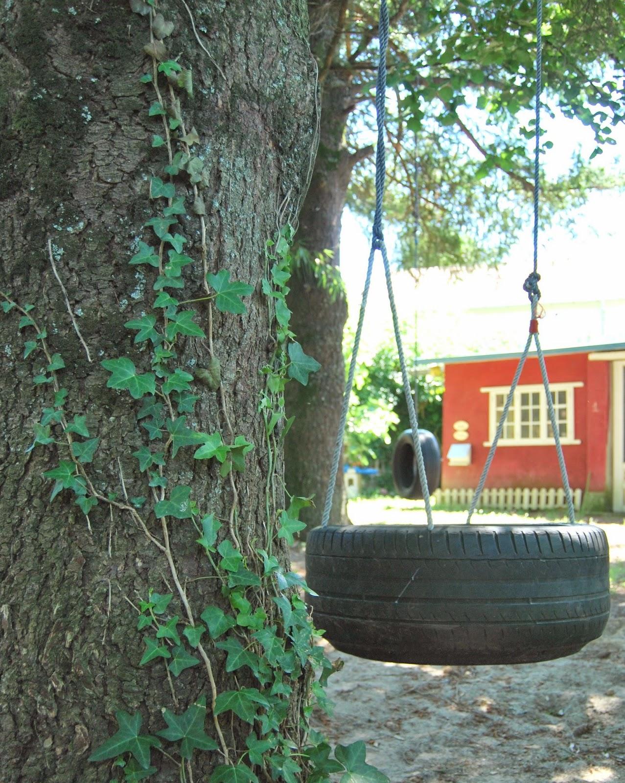 So sunny columpio neum tico tyre swing diy - Columpio jardin ikea perpignan ...