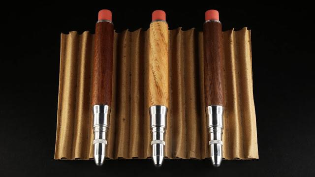 Timber Twist Bullet pencil