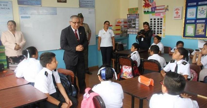 MINEDU inaugura nueva infraestructura en colegio del Rímac - www.minedu.gob.pe