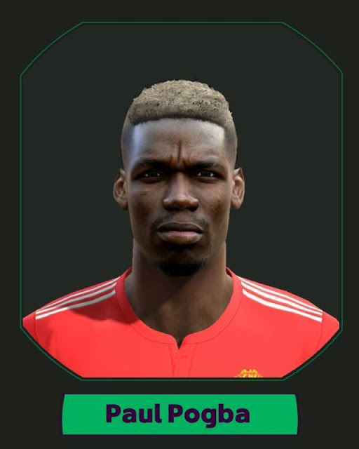 Paul Pogba Face Man United PES 2013