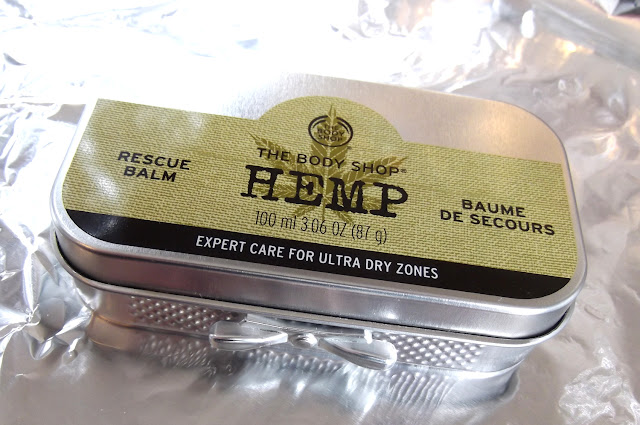 THE BODY SHOP Baume de Secours Chanvre.Rescue Balm Hemp
