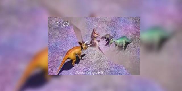 Unsur Indonesia yang terdapat pada anime Dinosaur King