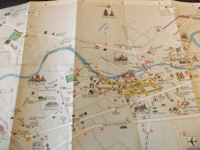Lampang, plan Lampang, thaïlande, teck,  Wat Mon Krating, Wat Sri Rong Muang, cheval