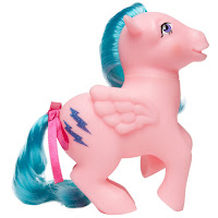 My Little Pony Firefly Unicorn and Pegasus Ponies Retro 35th Anniversary Ponies by Basic Fun