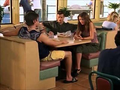 ryan punches luke the oc diner restaurant season 1