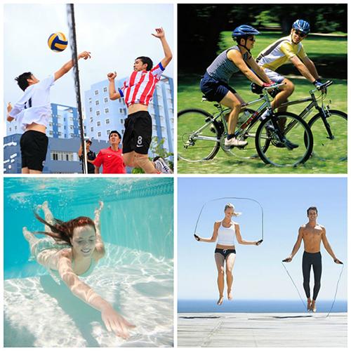 Chăm chỉ tập luyện thể thao giúp chiều cao phát triển một cách hoàn hảo