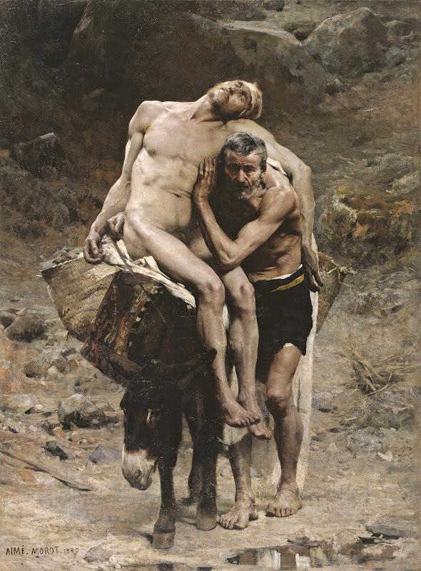 Aimé Morot - The Good Samaritan (c.1880)