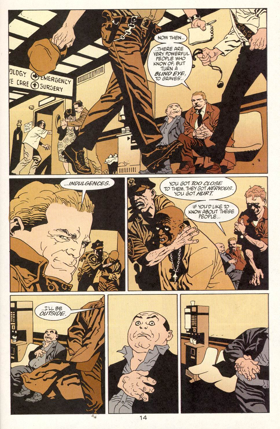 Read online 100 Bullets comic -  Issue #14 - 16