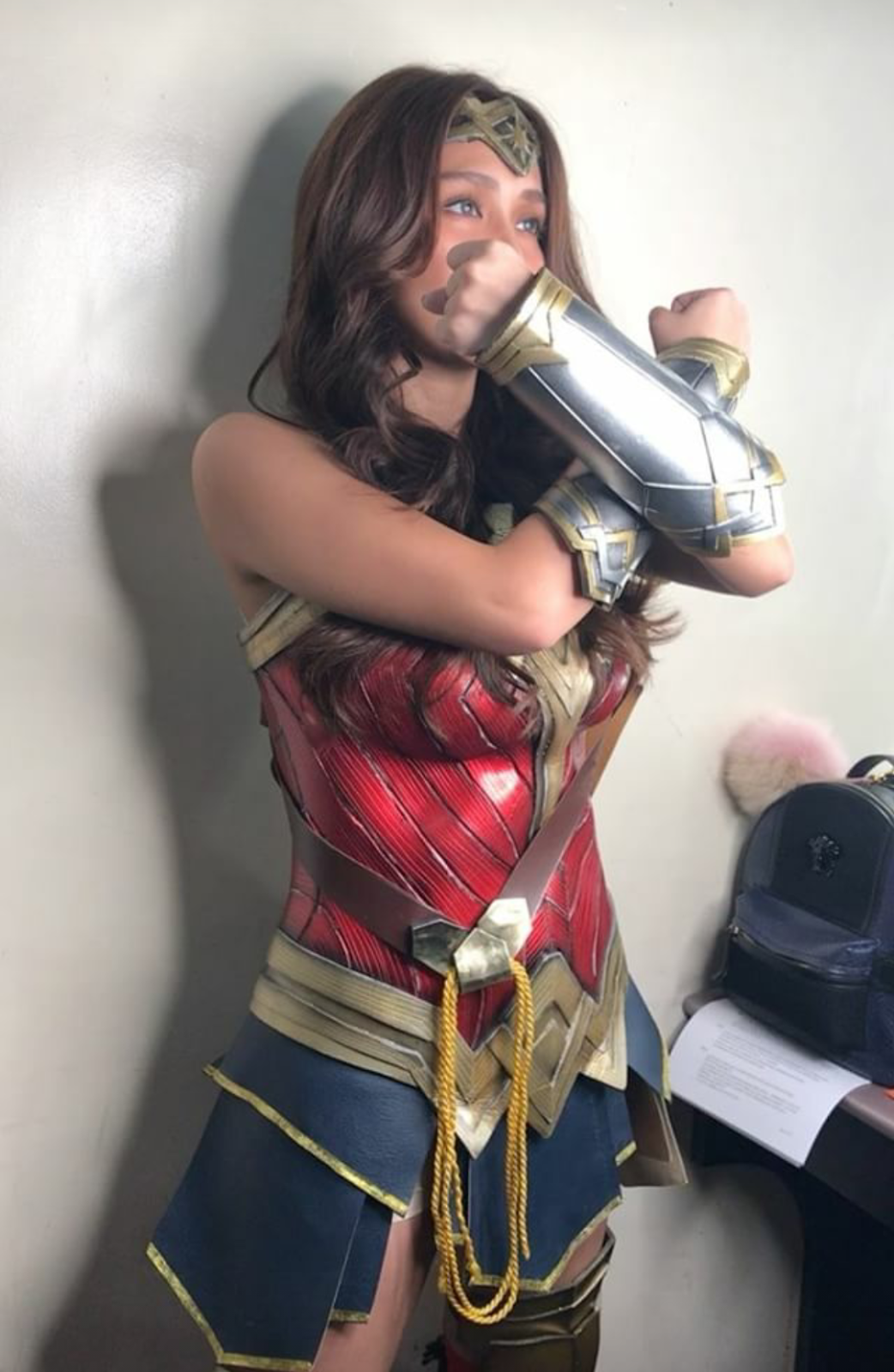 Look Kathryn Bernardo Slays In Wonder Woman Costume -2541