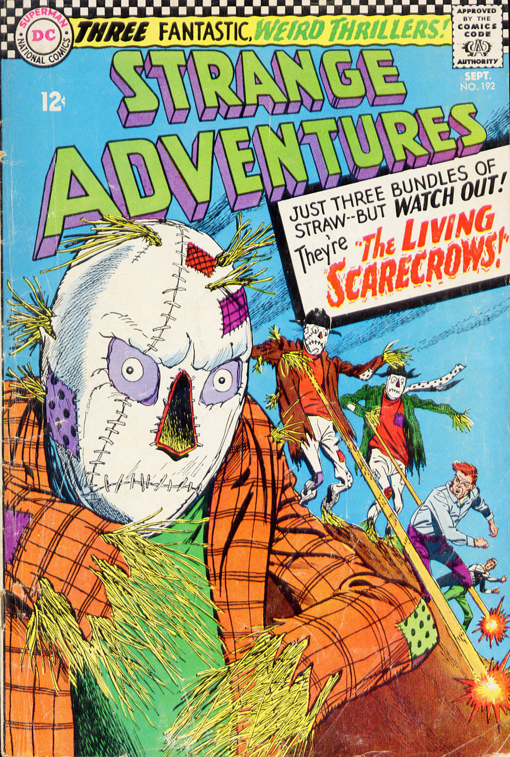 Strange Adventures (1950) issue 192 - Page 1