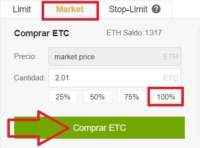 comprar criptomoneda ETC