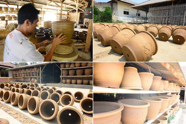 Ekowisata di Purwakarta | Kerajinan Keramik Tembikar Khas Plered