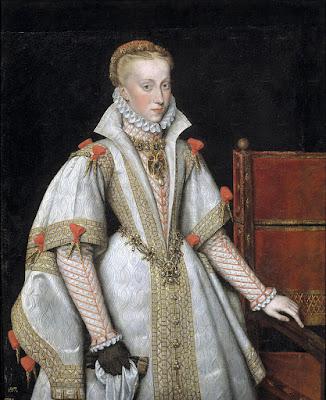 Bartolome Gonzalez y Serrano - Queen Ana de Austria, forth wife of Felipe II