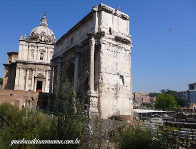 Igreja dos Santos Lucas e Martina no Fórum Romano