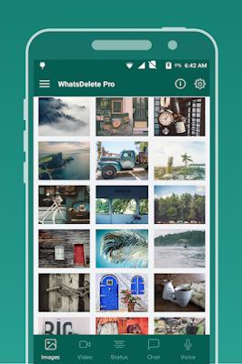 استرجاع رسائل الواتس اب بعد حذف الحساب, تطبيق WhatsDelete Pro كامل للأندرويد, استرجاع الواتساب المحذوف