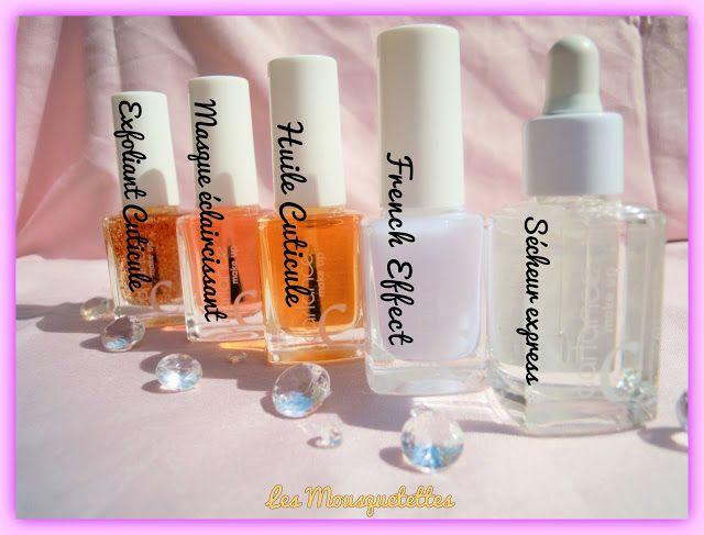 Ligne de 5 vernis de soins Carlance - Blog beauté Les Mousquetettes©