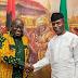 Acting President Yemi Osinbajo receives Ghanaian president, Nana Akufo-Addo in Abuja