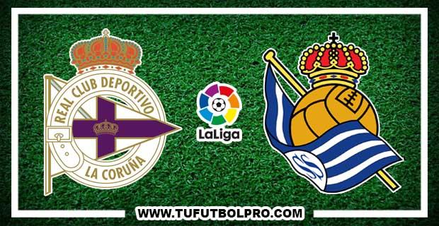Ver Deportivo vs Real Sociedad EN VIVO Por Internet Hoy 5 de Diciembre 2016