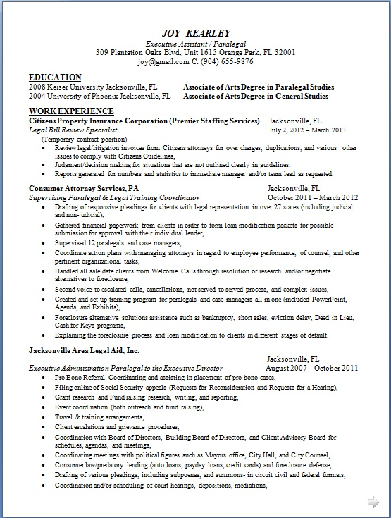 Legal Bill Review Specialist Sample Resume Format in Word Free Download - litigation specialist sample resume