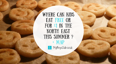 Where can Kids Eat Free (or for £1) in the North East This Summer? + Map