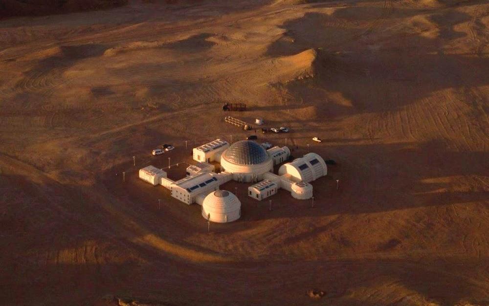 China's C-Space Mars simulation base in Gobi desert