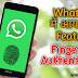 Whatsapp Fingerprint Authentication Feature in Work