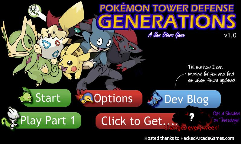 Pokemon Tower Defense 2 Hacked Unblocked Games 66 At School
