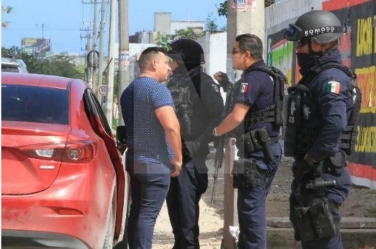 """Cae """"El Chalpa"""" , operador financiero del CJNG  y su escolta infiltrados en el Ayuntamiento de Cáncun"""