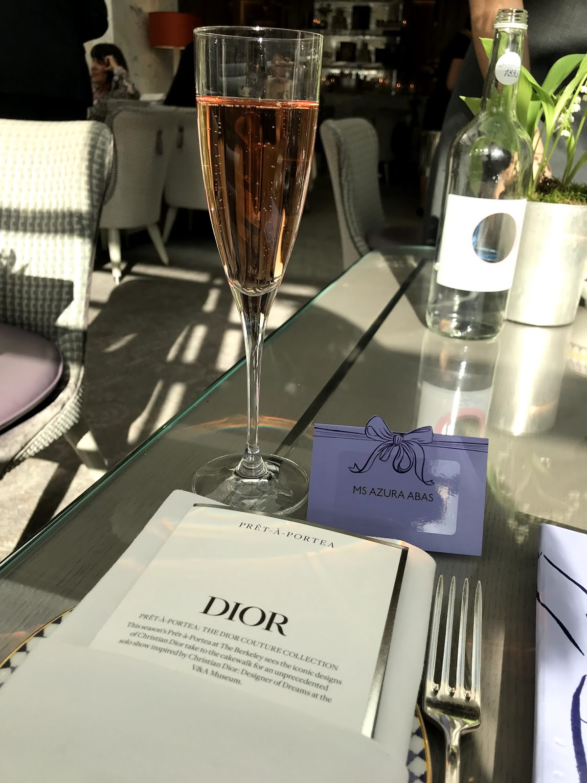 Dior Afternoon Tea at The Berkeley