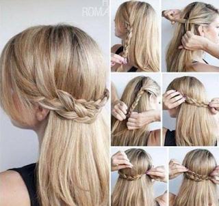 Gaya rambut Cute rambut panjang Lurus