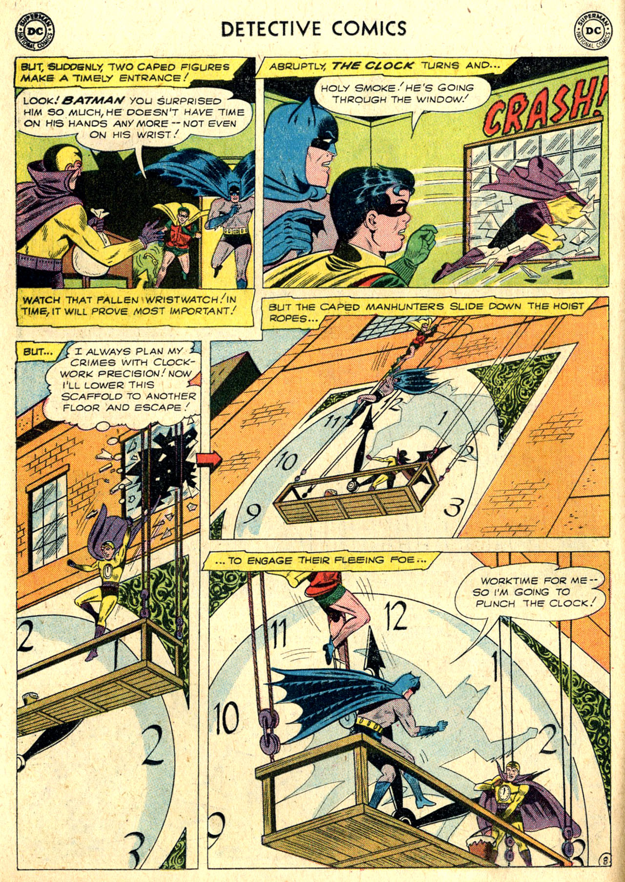 Read online Detective Comics (1937) comic -  Issue #265 - 10