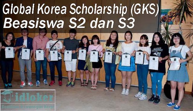 "Beasiswa S2, S3 ""Global Korea Scholarship"" (GKS) 2019 – 2020"