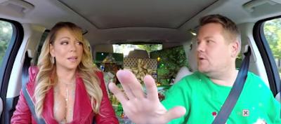 Ε ναι! Το πιο Χριστουγεννιάτικο Carpool γίνεται μόνο με την Μαράια Κάρει!