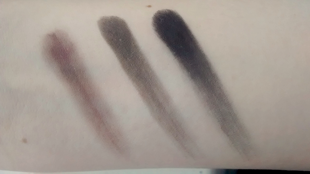 Gwen Stefani Urban Decay Swatches