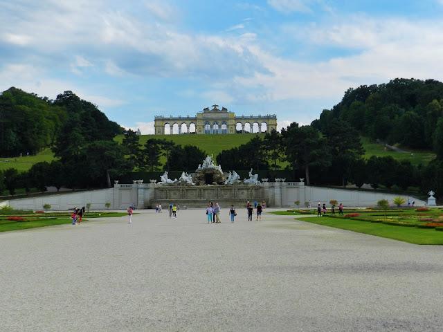 Castello di Schönbrunn vienna giardini