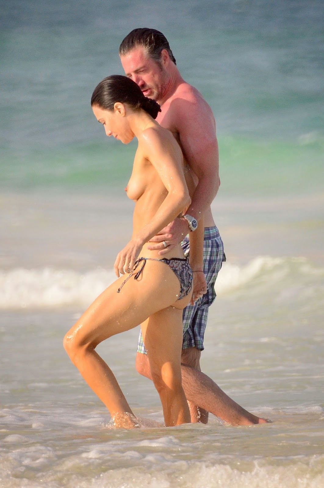 Jaime murray bikini know