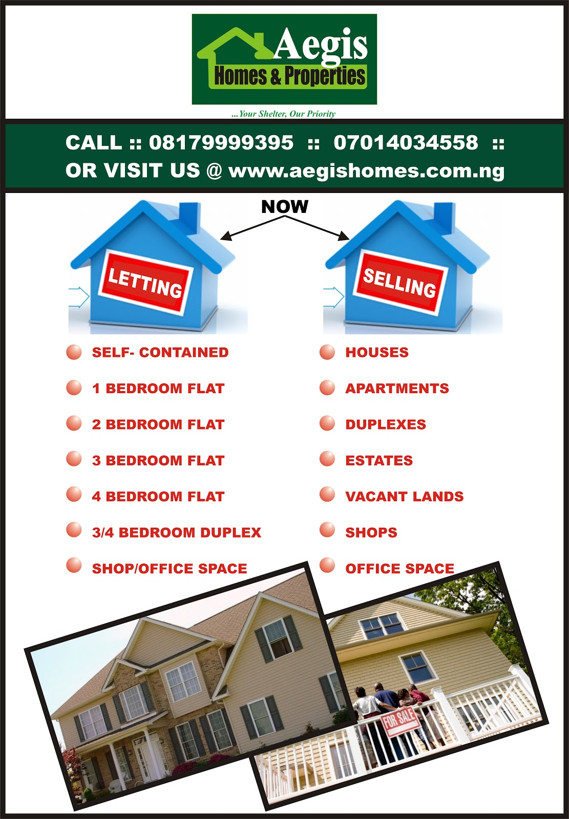 Aegis Homes