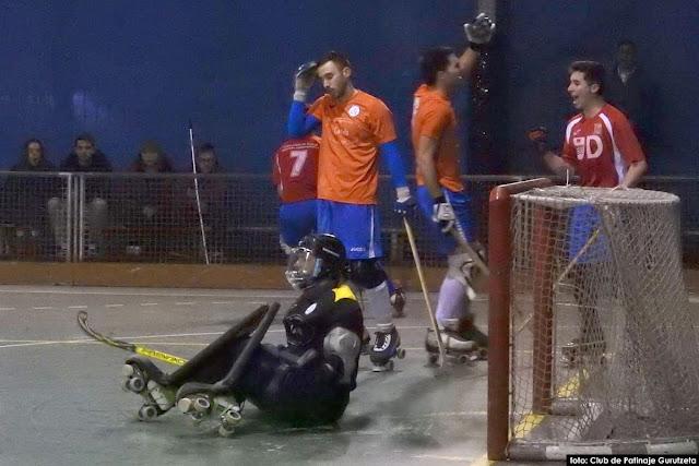 Hockey patines | El Gurutzeta pierde en Gorostiza ante el Loyola Indautxu y sigue noveno