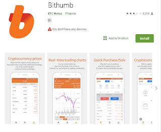 Ulasan Tengkap tentang Apliaksi Broker Bithumb di Android