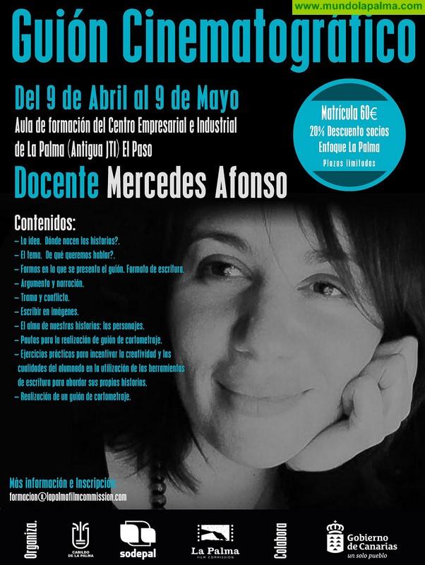 La Palma Film Commission organiza un curso de guión cinematográfico impartido por la directora Mercedes Afonso