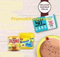 Logo ''Fai colazione con noi- Auchan e SMA'' vinci 150 card da 50€