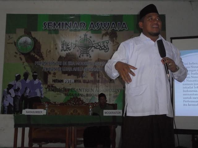 Fahami Aswaja Lewat Seminar