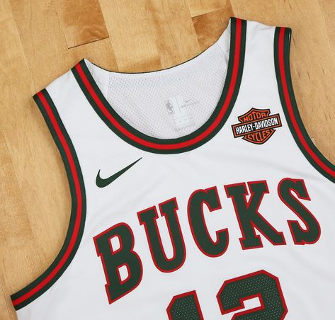 the latest 9c156 4ae8f Bucks Unveil Classic Nike Uniforms to Celebrate 50th Season ...