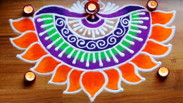 Easy Rangoli Designs No.3