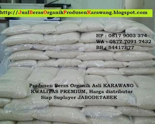 Produsen+distributor jual beras organik karawang asli harga murah